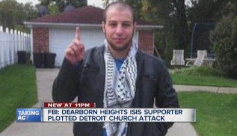 Muslim Terrorist Caught Preparing to Wreak Havoc in Detroit!