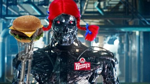The Terminator is Ready to Take Your Order