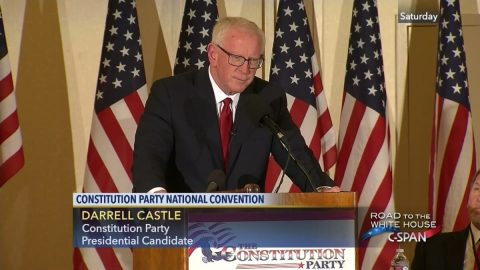 The Constitution Party Candidate for President Makes His Case
