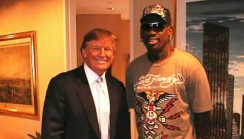 Donald Trump is to America what Dennis Rodman was to Basketball