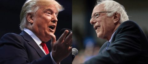 Bernie and Donald Agree to Debate… Hillary Hides