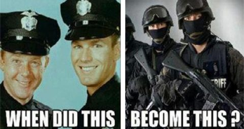 On the Militarization of Law Enforcement