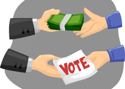 Getting Votes the Old Fashioned Way – Buying Them!