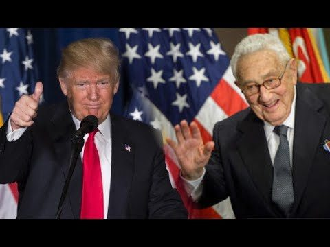 """Outsider"" Trump Meets with ""Insider"" Kissinger?"