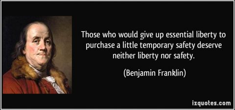 The Struggle between Unalienable Rights and Security