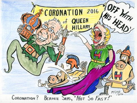 "Coronation? Bernie says, ""Not so Fast""!"