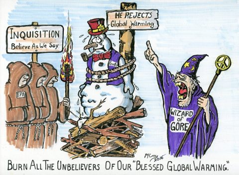 Global Warming: Burn the UnBelievers