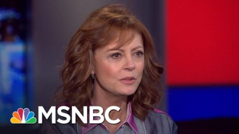 Susan Sarandon Calls Hillary Clinton more Dangerous than Donald Trump!