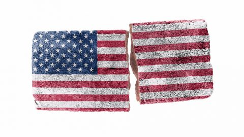 America, at the Divide