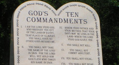 Thoughts about the Ten Commandments