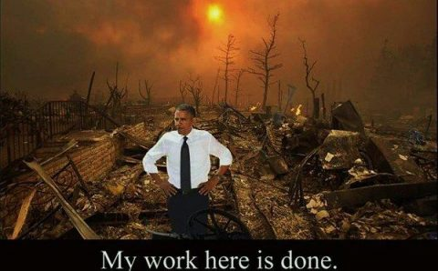 Frantic President Obama Damaging America in His Last Days