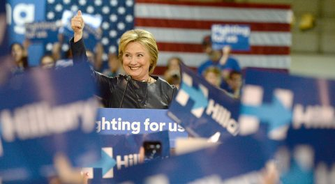 Hillary plays the Crowd while Obama Pretends to be Conservative