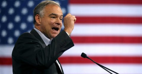 "Hillary's VP Kaine Cracks Open Democrat ""Conservatism"""