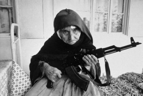 This 106-Year-Old Grandma is Ready to Defend Her Home from Muslims