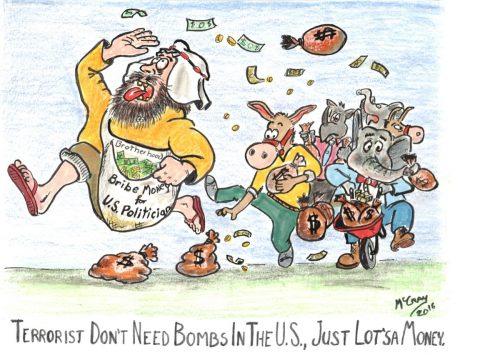 Terrorists don't Need Bombs. They Need Money
