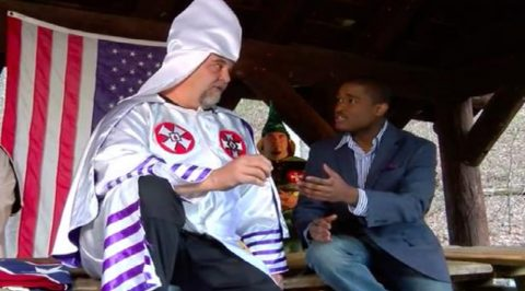 KKK endorses Trump AND Hillary for their 'Values'