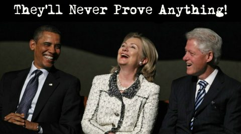 Will We Ever See the End of the Clinton's and Obama's Corruption?