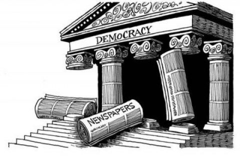 The Fall of the Fourth Estate