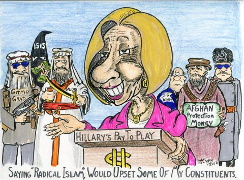 "Hillary Clinton Hates to Offend by Saying ""Radical Islam"""