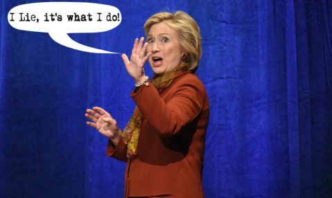 Hillary's Obsession with Secrecy and Lies (and then more Lies)