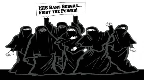IRONY: ISIS Bans the Burqa Due to Terrorism!