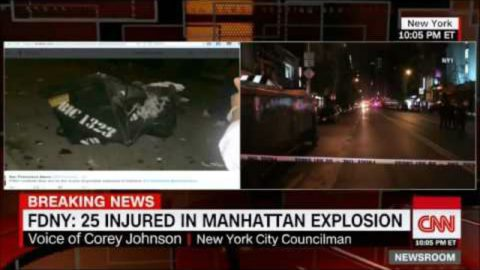 Confirmed: 5 Bombs in New York and New Jersey on Saturday, Liberals say No Sign of Terrorism