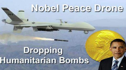 """""""Nobel Laureate"""" Obama and Donald J. Trump"""