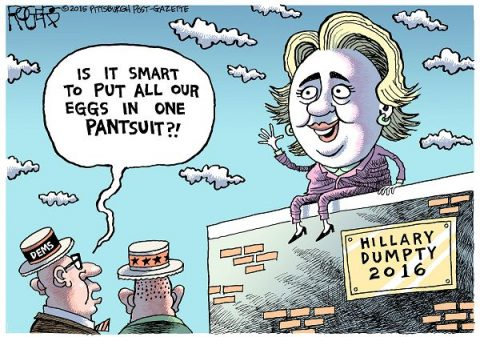 The Ballad Of Humpty Dumpty Hillary