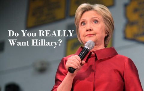 Conservatives Who Aren't Voting for Trump: Do You Really Want Hillary?