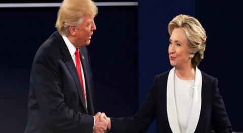 Trump Dumps on Clinton in Second Debate