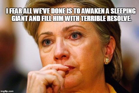 Modern Day Pearl Harbor: Hillary Has Woken the Sleeping Giant