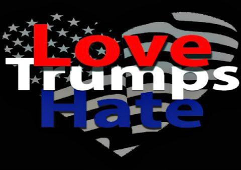 Christian Love Trumps Liberal Hate
