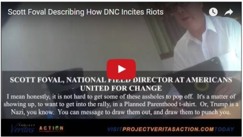 (Video) Shocking Hidden Camera Investigation Proves Hillary Paid for Violence at Trump Rallies!