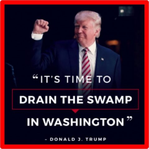 Drain the Swamp: Control Immigration and Make Us One Nation!