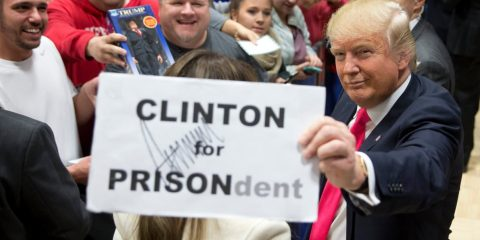 There's a New Sheriff in Town, so Why isn't Hillary in Jail Yet?