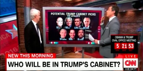Who should be in Trump's Cabinet and Congress?
