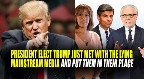 "Trump Declares War on Media in ""Firing Squad"" Private Meeting!"