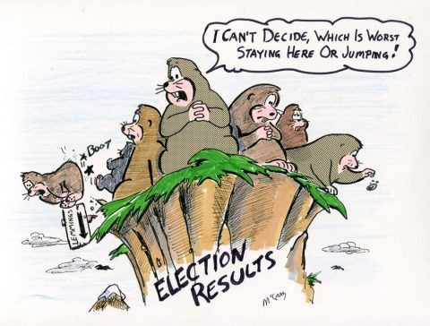 (Political Cartoon) Is it Time to Jump?