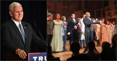Mike Pence Shows Class and Dignity in Responding to His Hamilton Critics