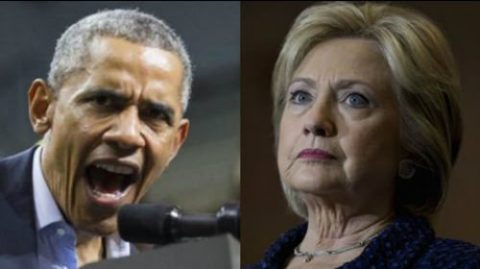Hillary and Obama Hitting the Panic Button