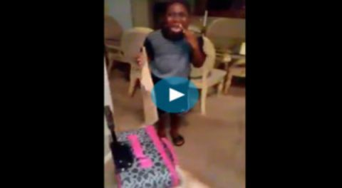 (Video) Liberal Mom Kicks Out Trump 'Voting' Seven-Year Old