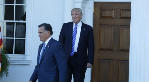 Ten Ways Mitt Romney Has Stabbed President-Elect Trump in the Back!