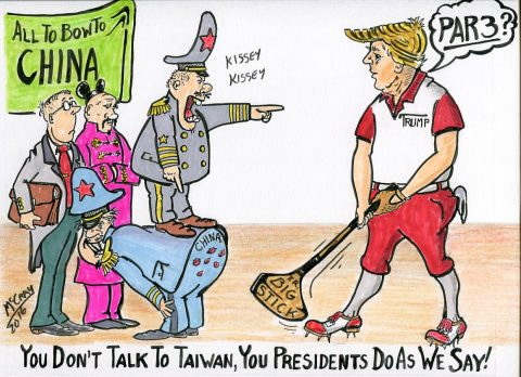 (Political Cartoon) IS THE KISSEY, KISSEY WITH CHINA IS COMING TO AN END?