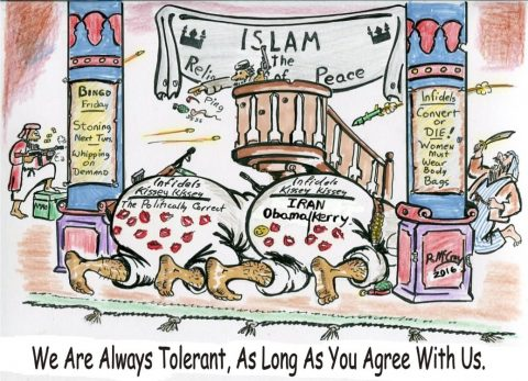 (Political Cartoon) Of Course We Are Tolerant