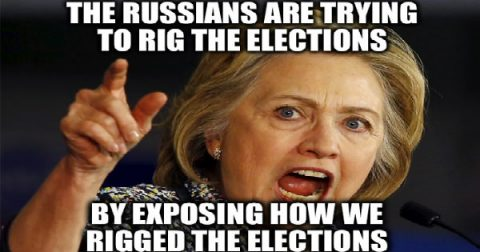 """Russian Hacking"" of U.S. Election is Hillary and Obama's Last Deception"