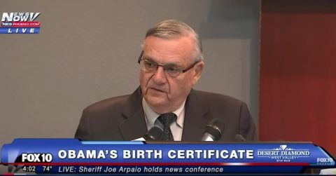 "Five Year Investigation by Sheriff Finds Obama's Birth Certificate is a ""Fake""!"
