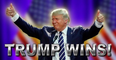 BREAKING: Trump Hits 270 votes to Formally Win the Presidency!