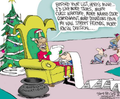 A Christmas List for Obama