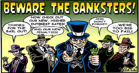 Escaping the Banksters