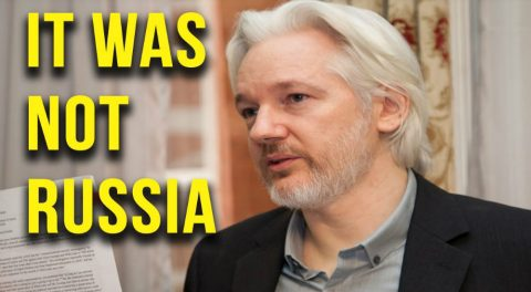 "Julian Assange Confirms the ""Russia Hack"" is an Obama Lie"